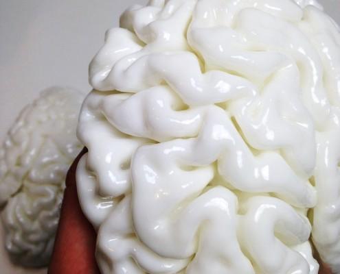 3D printed brain by Clone3D